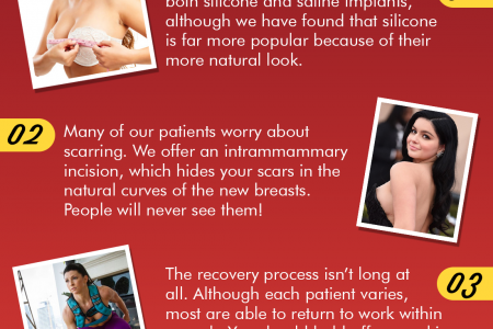 What to Know Before Getting Breast Implants Infographic