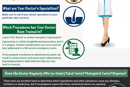 What to Look for When Seeking a Qualified Dermatologist for Dermatology Services Infographic