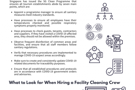 What Tourism Establishments Need to Know When Hiring a Facility Cleaning Company amidst COVID-19 Infographic