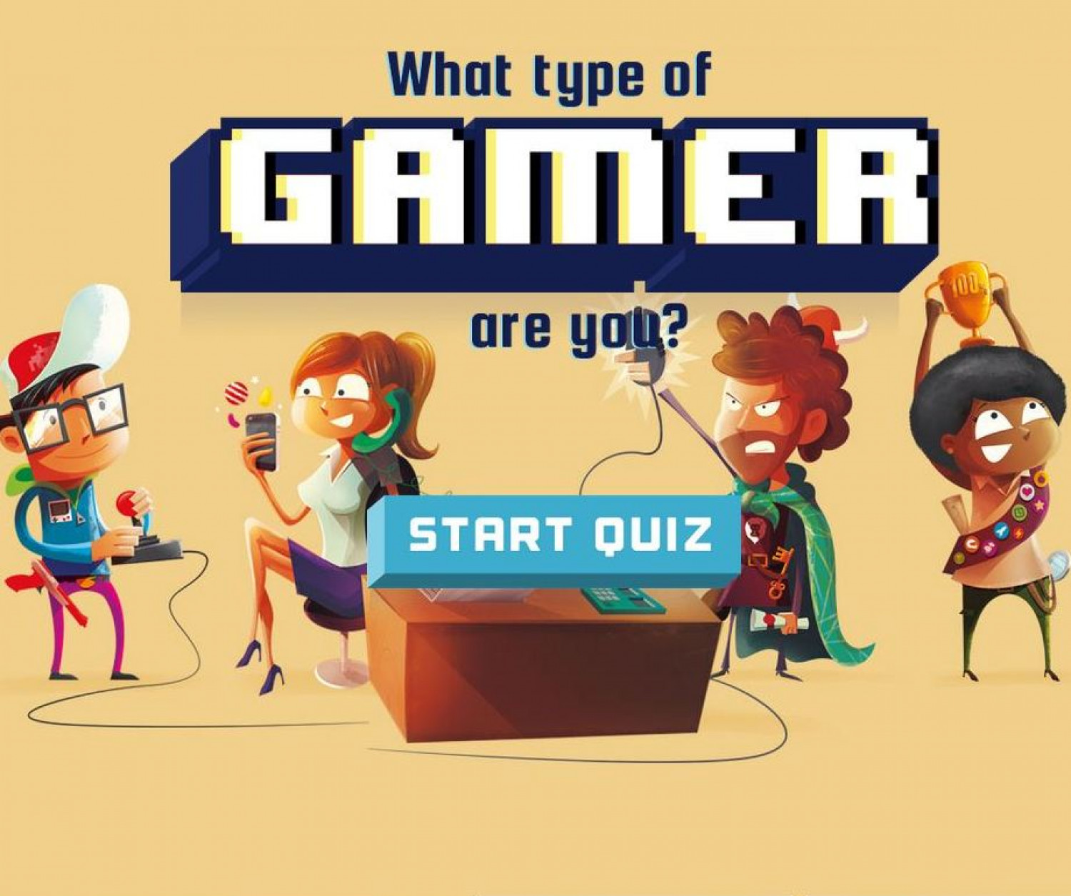 What Type of Gamer Are You? Infographic