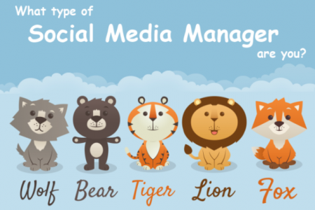 What Type of Social Media Manager Are You? Infographic