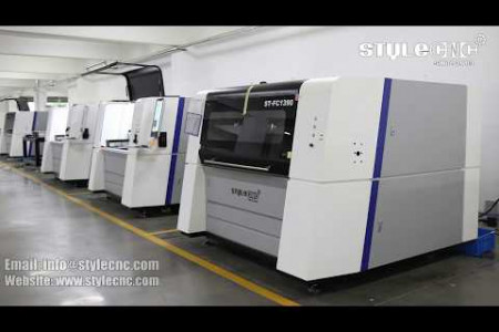What works can the high precision fiber laser cutting machine do? Infographic