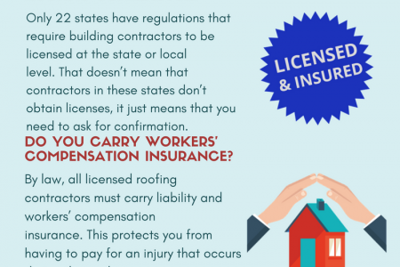What you need to ask while hiring a roofing contractor is the main concern Infographic
