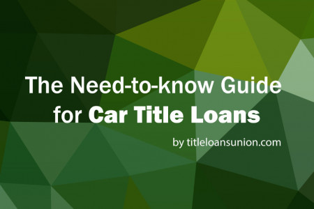 What You Need to Know About Car Title Loans Infographic