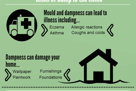 What You Need To Know About Dampness At Home Infographic