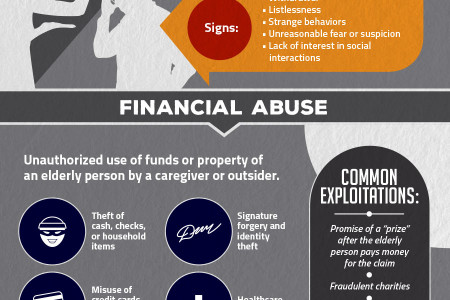 What You Need To Know About Nursing Home Abuse Infographic