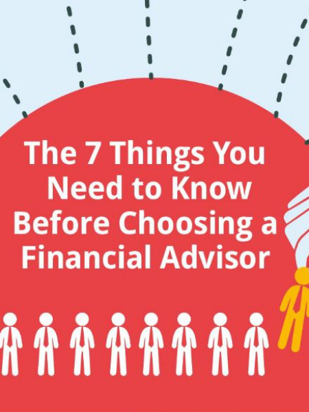 What You Need to Know Before Selecting a Financial Advisor Infographic