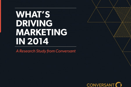What's Driving Marketing in 2014 Infographic