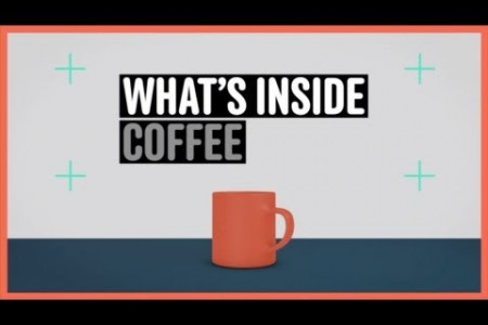 What's Inside Coffee Infographic