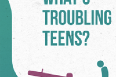 What's Troubling Teenagers Infographic