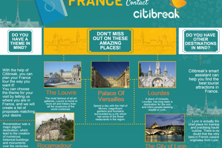 When In France Contact Citibreak Infographic
