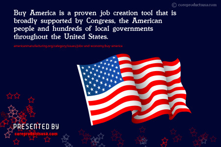 When it Comes to Manufacturing - Buy American! Infographic