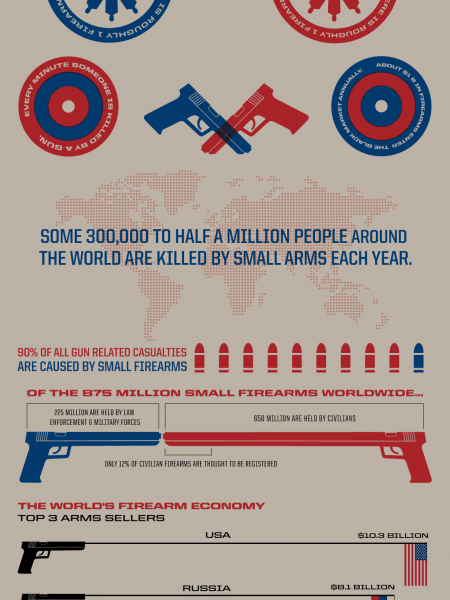 Where Are the World's Small Arms? Infographic