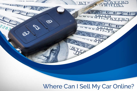 Where can I sell my car online? Infographic