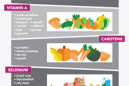 Where To Find Antioxidants Infographic