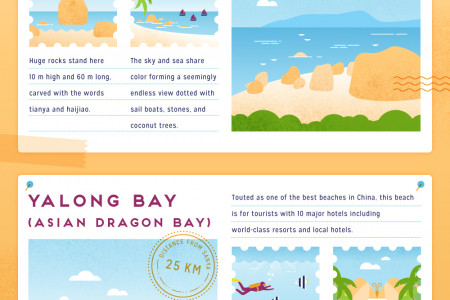 Where to Find the Best Beaches in Sanya Infographic