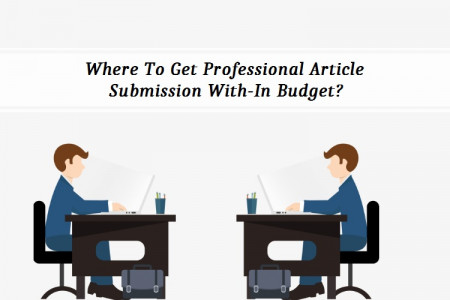Where To Get Professional Article Submission With-In Budget? Infographic