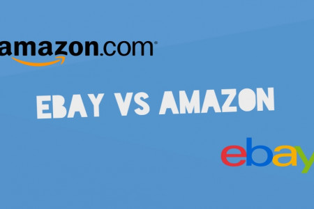 Which one is better ? Amazon Or eBay?   Infographic