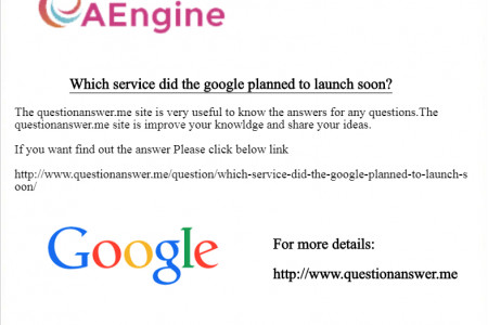 Which service did the google planned to launch soon? Infographic