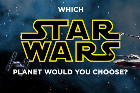 Which Star Wars Planet would you live on? Infographic