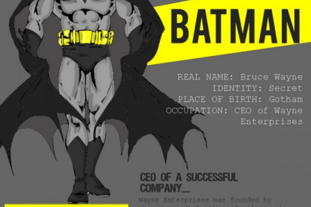 Which Superhero Has The Worst Credit Rating? Infographic