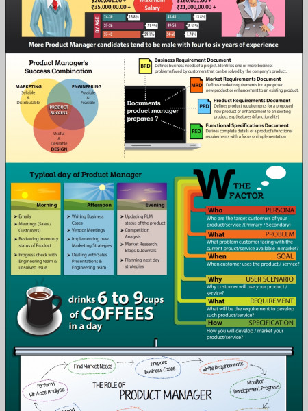 Who are Product Managers ? Infographic