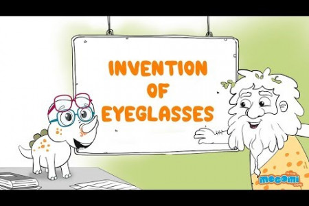 Who Invented Eyeglasses? Infographic