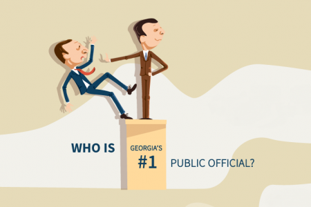 Who is Georgia's #1 Public Official? Infographic