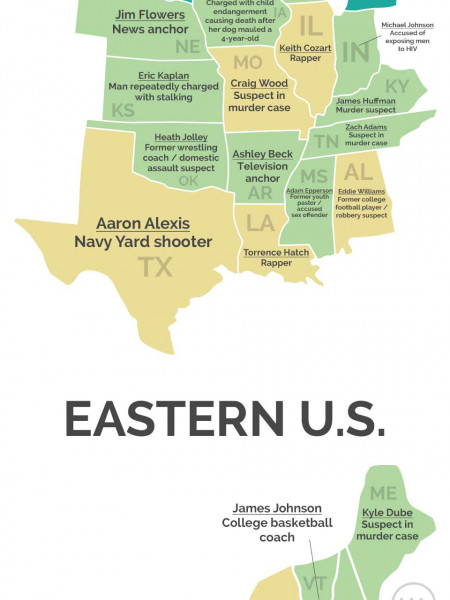 Who Is Your State Obsessed With? Infographic