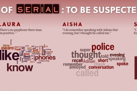 Who Said What in Serial Episode 9 Infographic