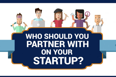 Who Should You Partner With On Your Startup? Infographic