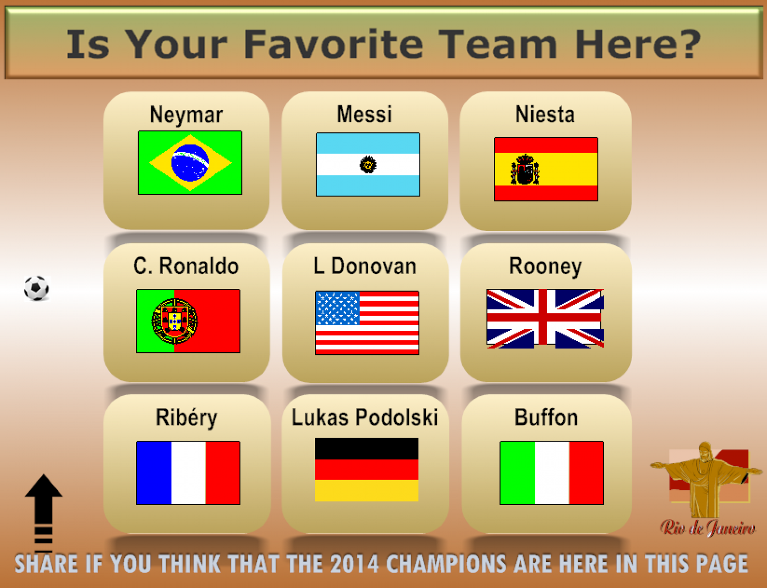 Who Will Win The Fifa World Cup Brazil 2014 Infographic