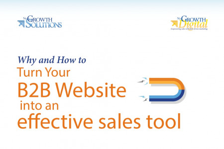 Why and How to Turn Your B2B Website into an Effective Sales Tool  Infographic