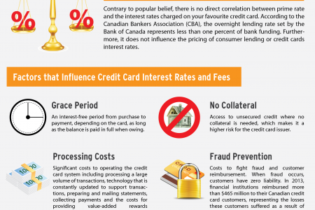 Why Are Credit Card Interests So High? Infographic