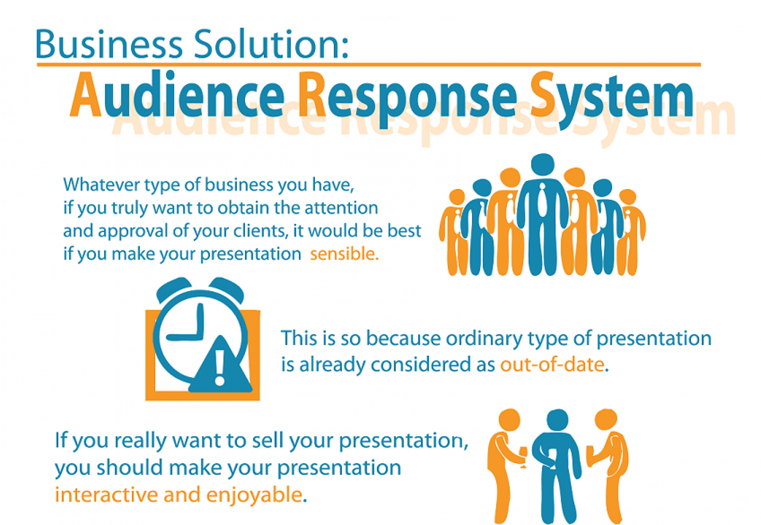 Audience Response System Infographic