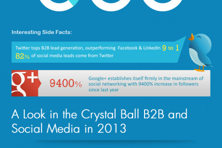 Why B2B Businesses Should Leverage the Potential of Social Media in 2013 Infographic