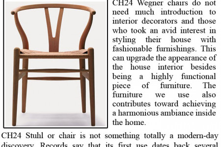 Why Ch24 Wegner Chair is still popular? Infographic