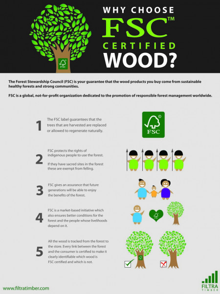 Why Choose FSC Certified Wood? Infographic