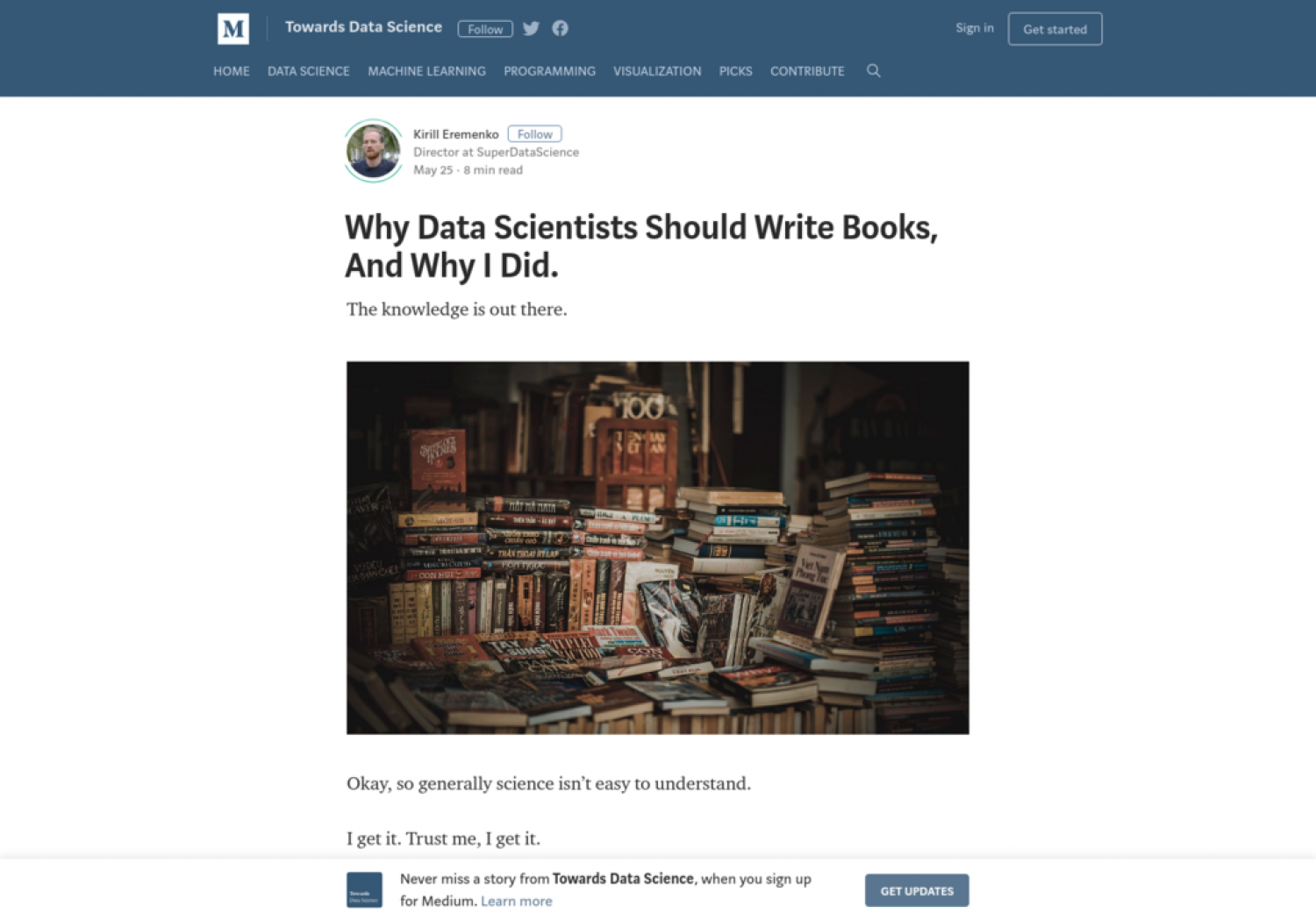 Why Data Scientists Should Write Books, And Why I Did. Infographic