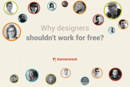 Why designers shouldn't work for free? Infographic