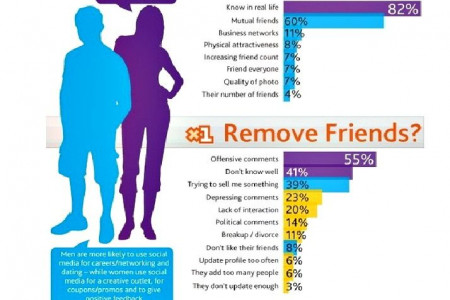 Why Do Facebook Users..... Infographic