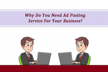 Why Do You Need Ad Posting Service For Your Business?  Infographic