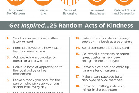 Why Doing Good Is Good for Your Health Infographic