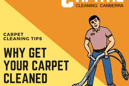 Why Get Your Carpet Cleaned Infographic