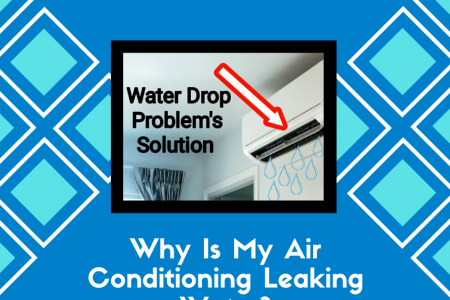Why Is My Air Conditioning Leaking Water? Infographic