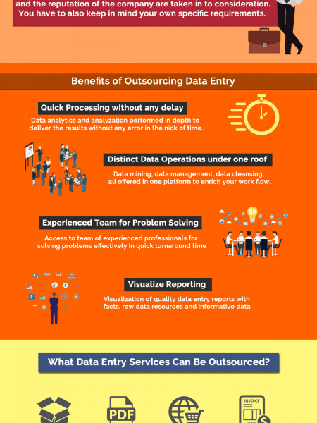 Why is Outsourcing Data Entry So Popular? Infographic