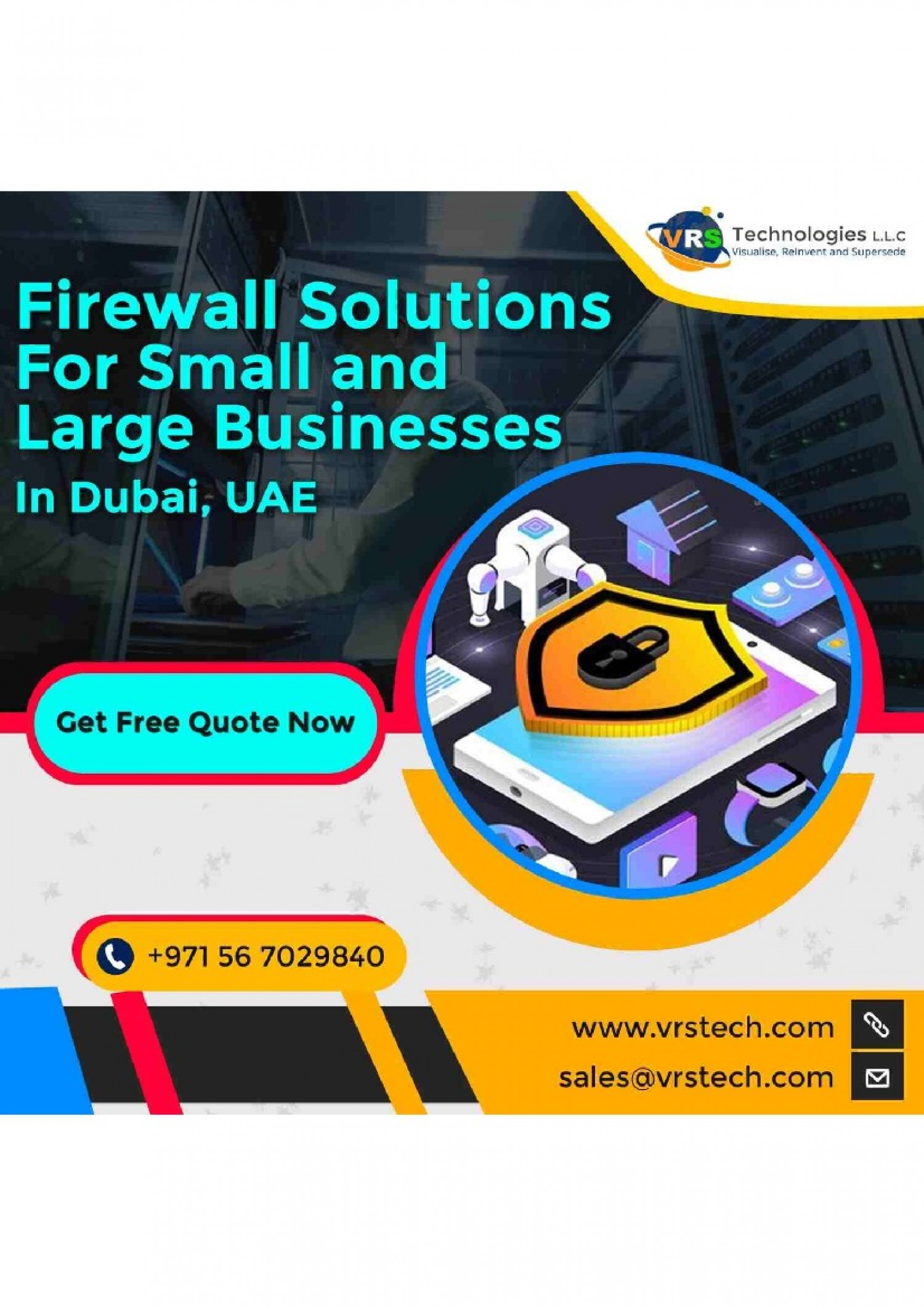 Why it is Important to Hire Firewall Solutions in Dubai? Infographic