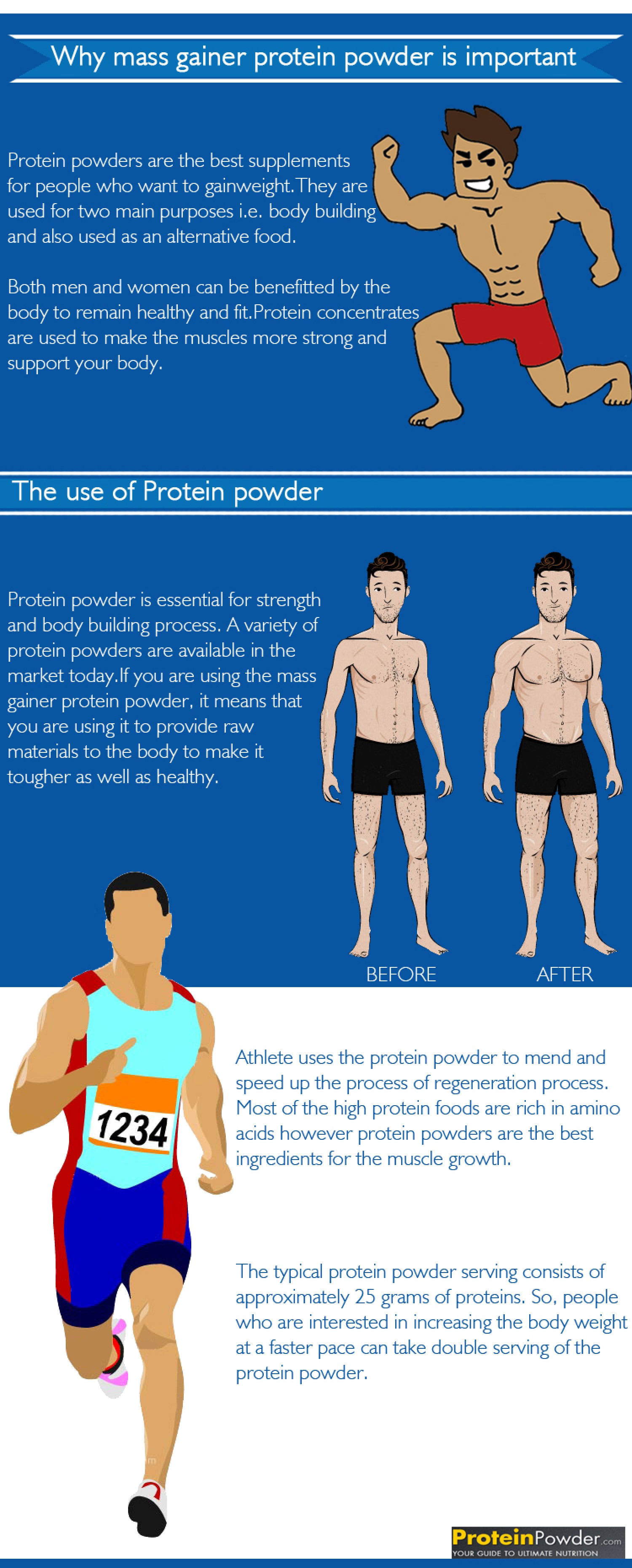 Why mass gainer protein powder is important Infographic