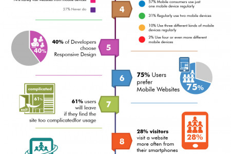 Why Responsive Website worth the hype! - Stats Infographic Infographic