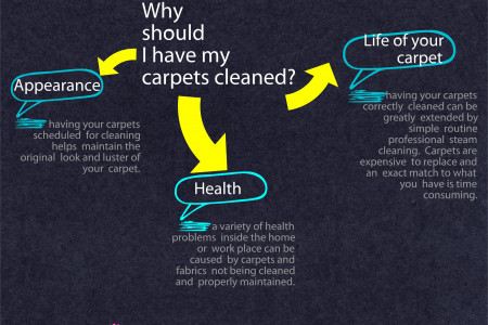 Why should I have my carpets cleaned? Infographic